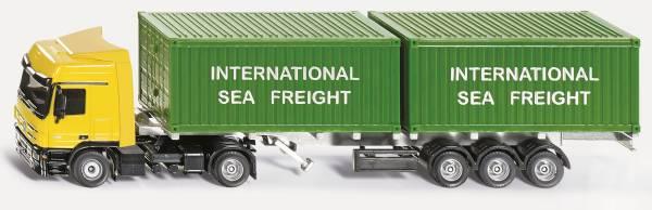 Vrachtwagen met container SIKU (3921)