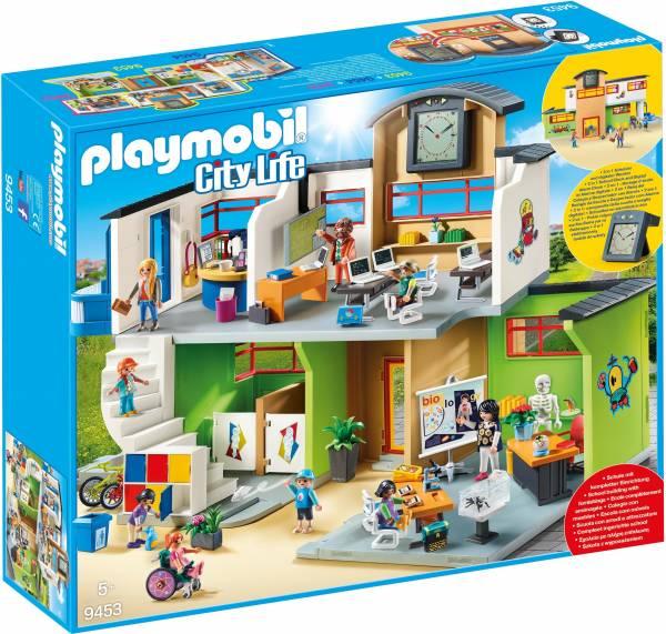 Ingerichte school Playmobil (9453)