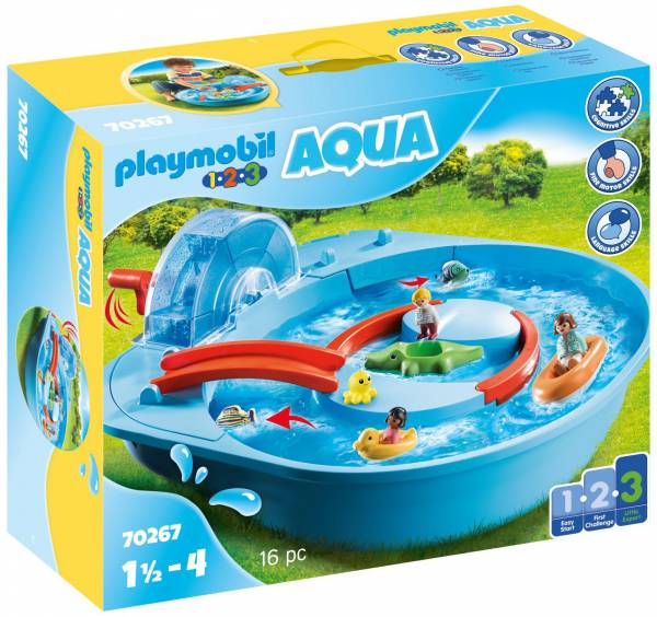 1.2.3. Vrolijke waterbaan Playmobil (70267)