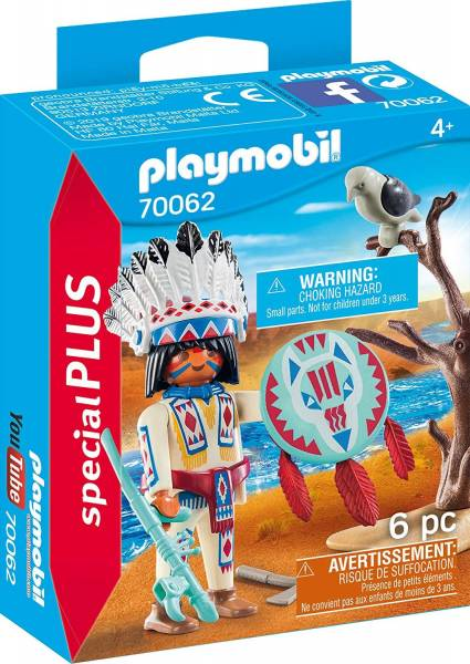Inheems stamhoofd Playmobil (70062)