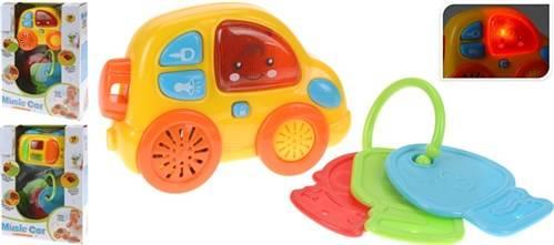 Babyspeelgoed auto en sleutels
