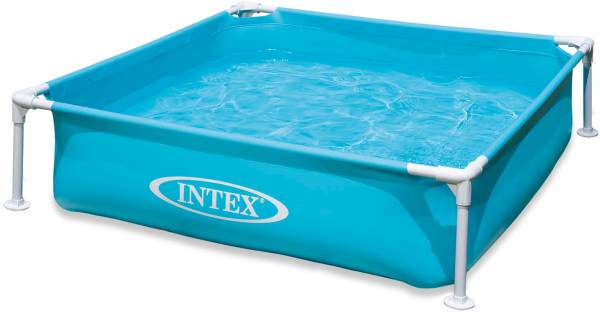 Zwembad Intex blauw 122x122x30 cm