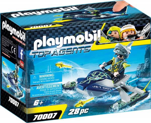 S.h.a.r.k. Team Raketscooter Playmobil (70007)