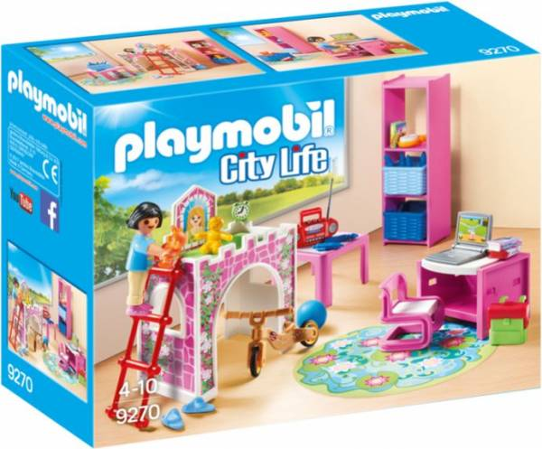 Kinderkamer met hoogslaper Playmobil (9270)