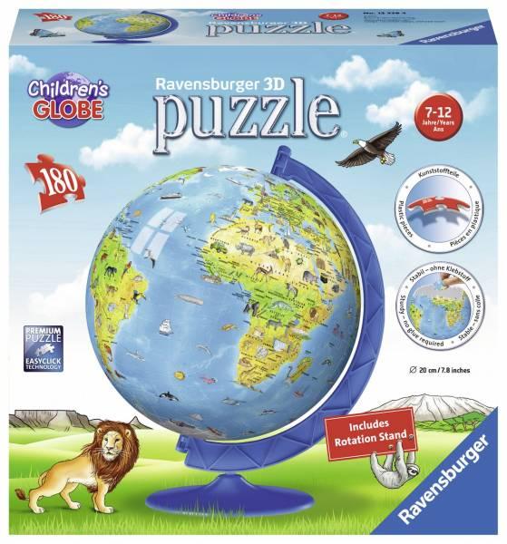 Puzzel Globe 3d Engelstalig: 180 stukjes (123384)