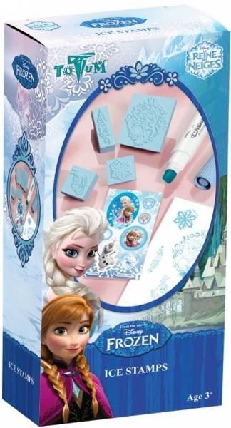 Stempelset mini Frozen ToTum: sneeuwkoningin (6850 24)