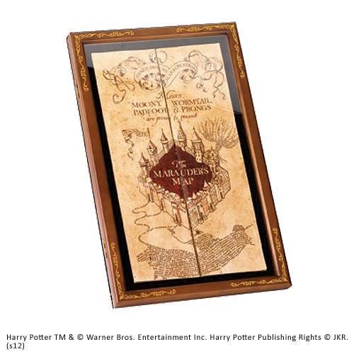 Marauder Map display case