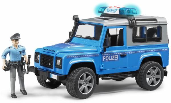 Land Rover Defender Politie met politieman Bruder  (2597)