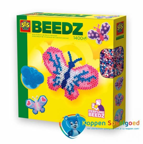 SES Strijkkralen vlinder geurkralen