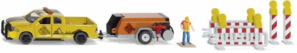 RAM 1500 met compressor trailer SIKU (3505)